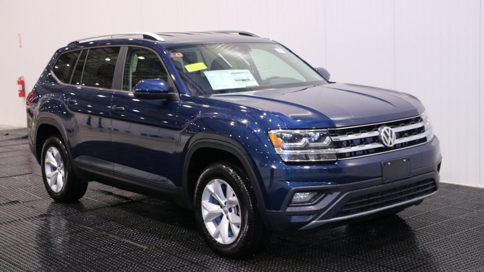 New 2018 Volkswagen Atlas 3.6L V6 SE w/Technology Sport Utility in Braintree #V34664 | Quirk ...