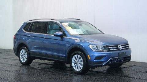 New 2018 Volkswagen Tiguan S 3RD ROW